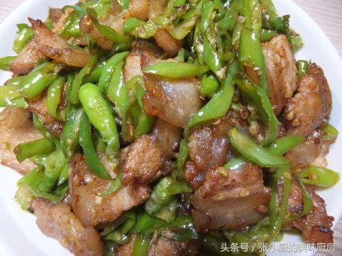 湖南风味辣椒炒肉