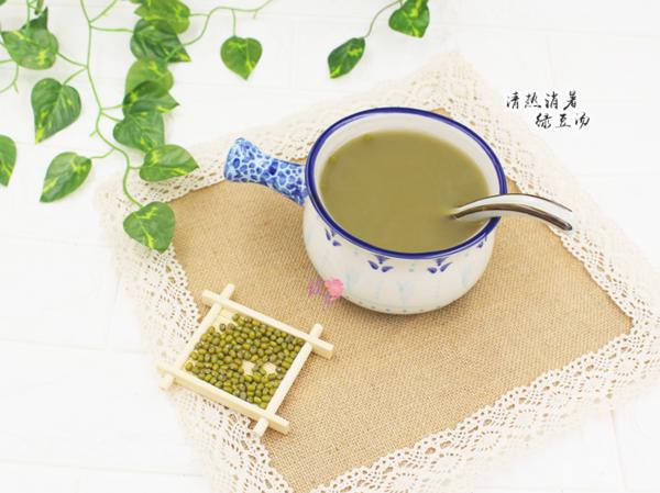 清热解毒、止渴消暑―绿豆汤