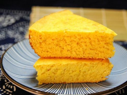 奶香玉米面发糕