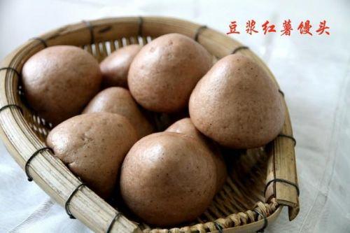 豆浆红薯馒头