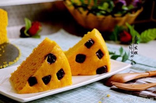 营养又美味:南瓜发糕
