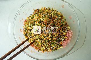 花朵蒸饺的做法步骤:7