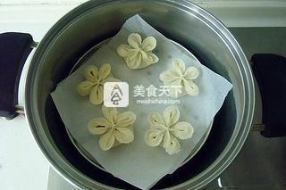花朵蒸饺的做法步骤:14