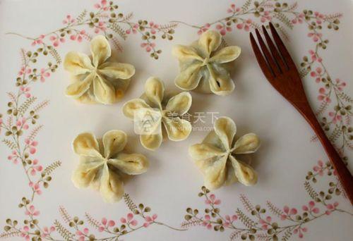 花朵蒸饺的做法