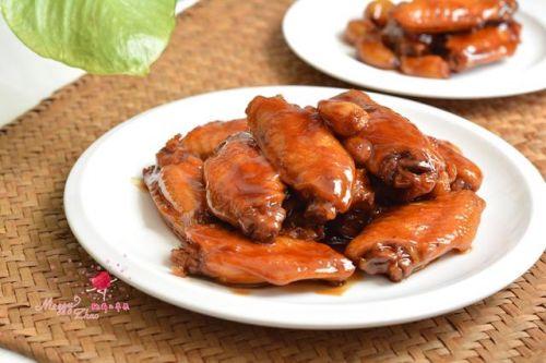 快手鸡翅:冰糖啤酒鸡翅