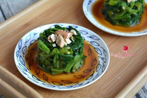 凉拌腰果菠菜