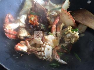 香辣蟹的做法步骤:6