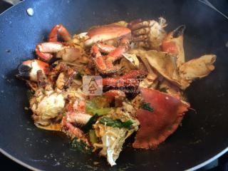 香辣蟹的做法步骤:8