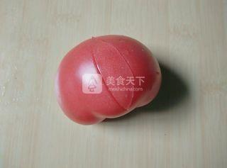 西红柿天鹅的做法步骤:4