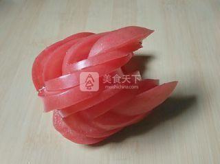 西红柿天鹅的做法步骤:8