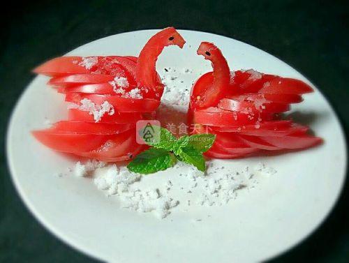 西红柿天鹅的做法