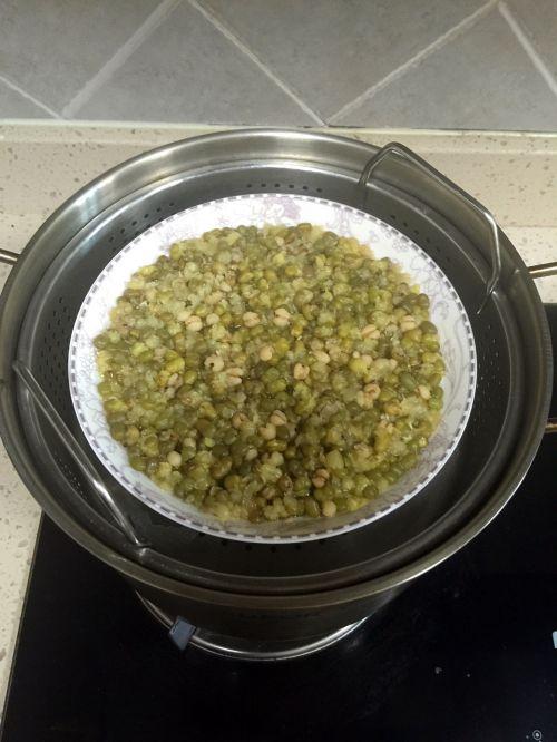 绿豆凉糕的做法图解2