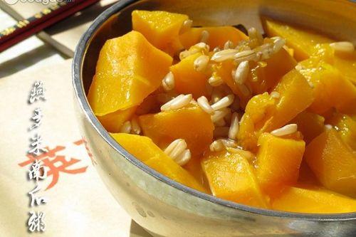 燕麦米南瓜粥