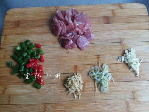 菌菇炒肉片的做法图解2