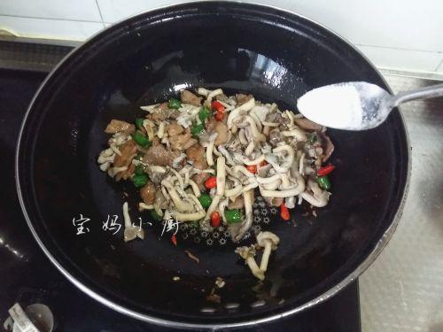 菌菇炒肉片的做法图解10