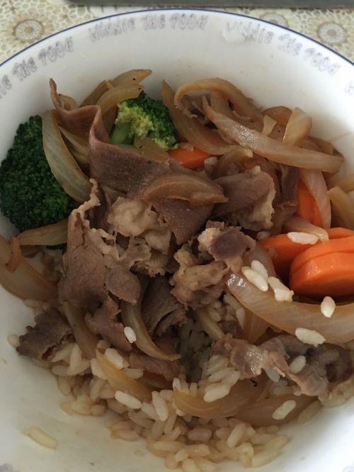 牛肉饭的做法图解6