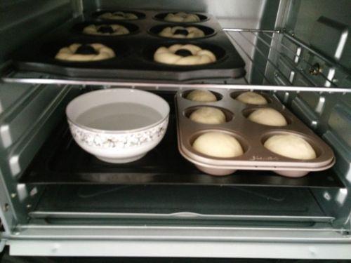 淡奶油花环甜甜圈的做法图解8