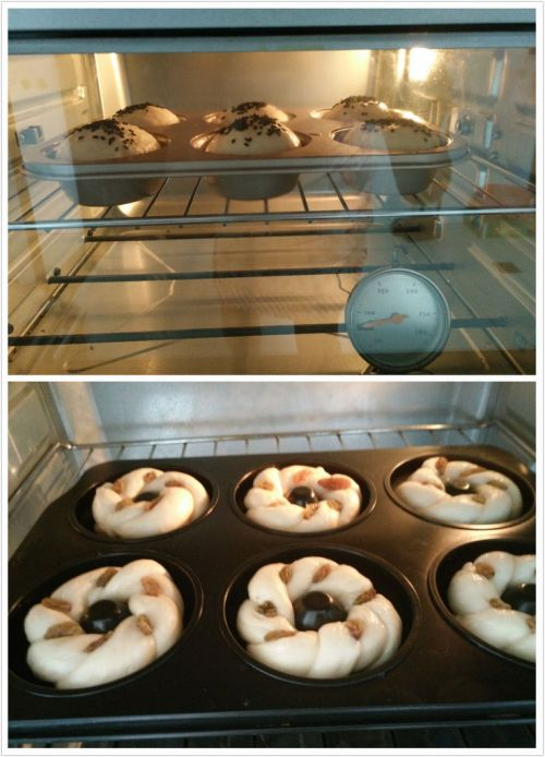 淡奶油花环甜甜圈的做法图解9