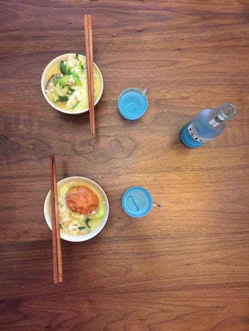 广式海鲜粥的做法图解4
