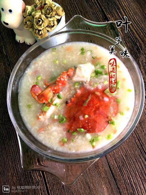 螃蟹粥的做法图解7