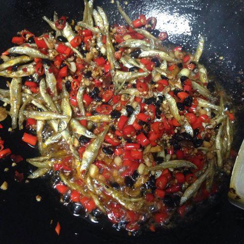 鱼干辣椒酱的做法图解4
