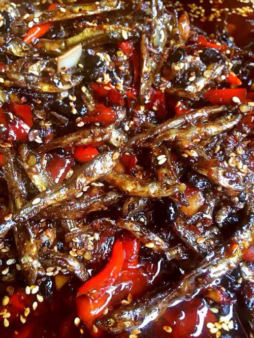 鱼干辣椒酱的做法图解5