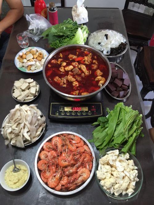 麻辣火锅鸡(沧州特色火锅)的做法图解6