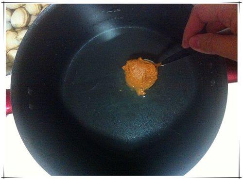 味增蛤蜊豆腐汤的做法图解1