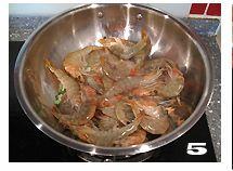 黄酒焖虾的做法图解5