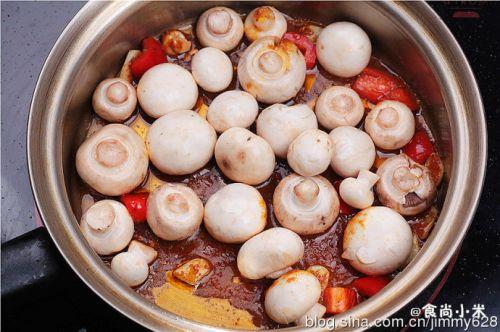 咖喱蘑菇的做法图解4