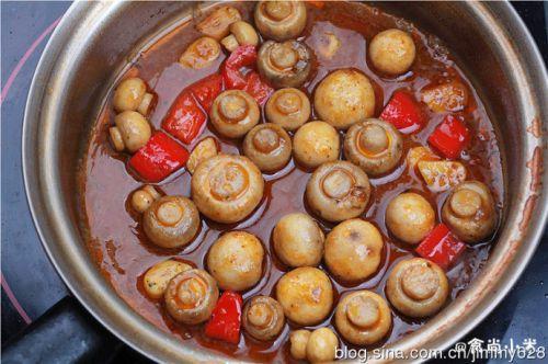 咖喱蘑菇的做法图解5