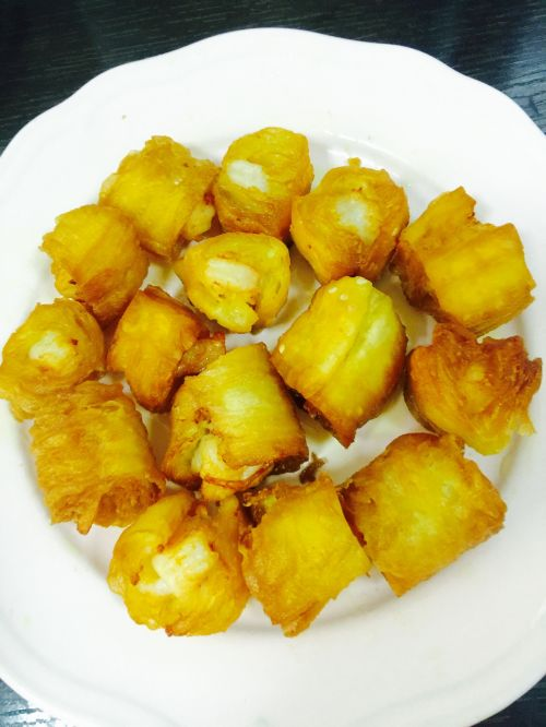 油条虾炒丝瓜的做法图解4