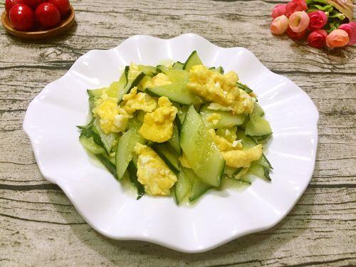 鸡蛋炒黄瓜的做法图解10