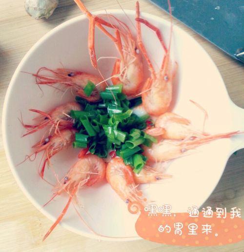 宝宝鲜虾粥的做法图解1