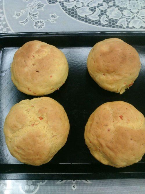 适合三高人群:南瓜胡萝卜面包的做法图解7