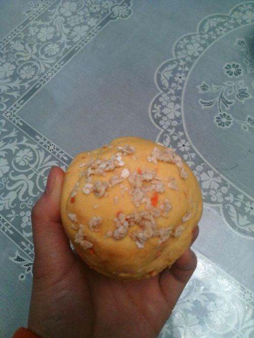 适合三高人群:南瓜胡萝卜面包的做法图解8