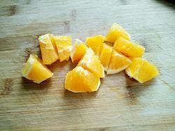 营养好喝的香橙豆浆的做法图解3