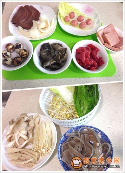 川味砂锅之足不出户的麻辣烫的做法图解2