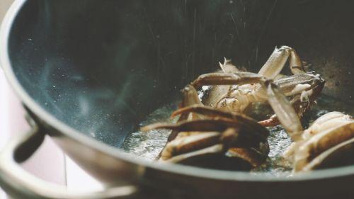 咖喱粉丝蟹的做法图解4