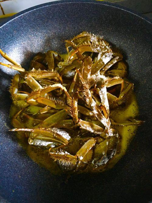 香辣蟹煲的做法图解3