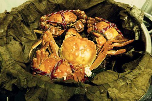与荷花剪贴画制作方法-香原味大闸蟹的做法