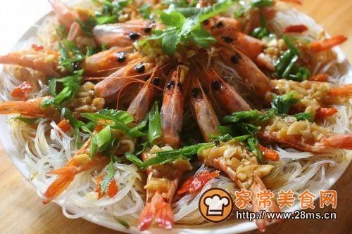 虾蒸粉(花开富贵)