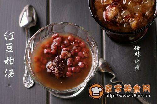 红豆甜汤的做法图解2