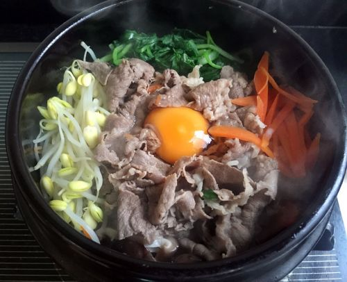 石锅肥牛拌饭的做法图解5