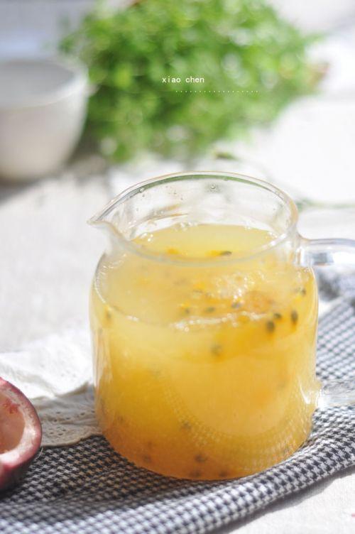 甜梨百香果汁的做法图解9