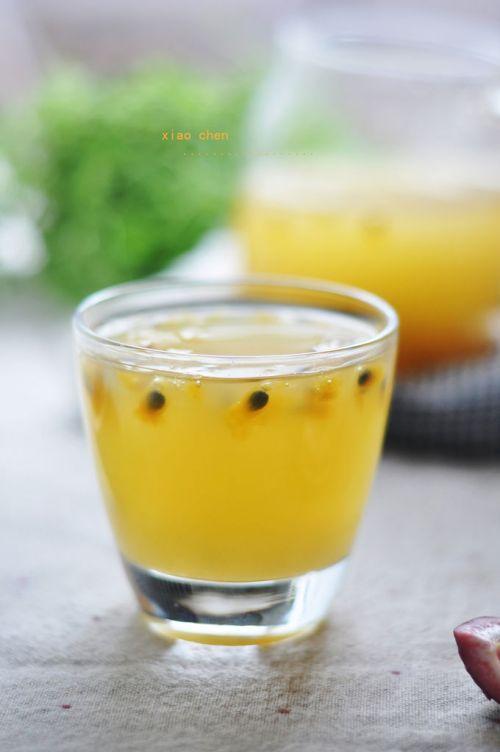 甜梨百香果汁的做法图解11