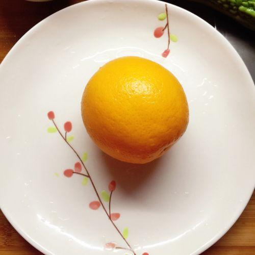 止咳小偏方:盐橙的做法图解1