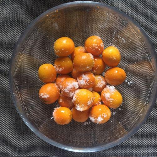 蜜汁金桔的做法图解2