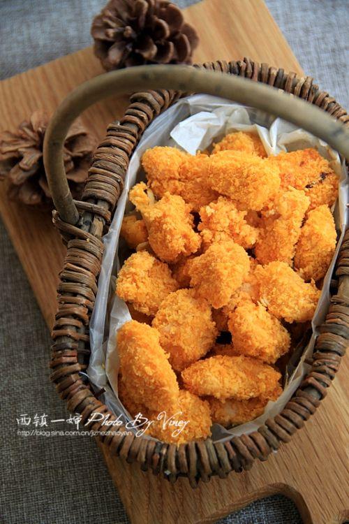 面包机版鸡米花的做法图解5