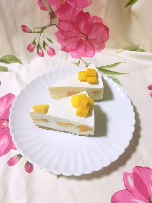 芒果酸奶慕斯的做法图解5